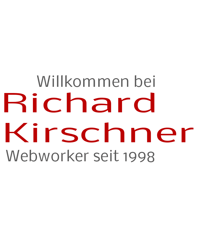 Schreinerei Kirschner richard kirschner webworker